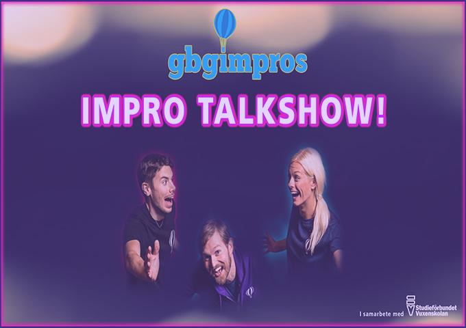 Impro talkshow med Ingmar Skoog